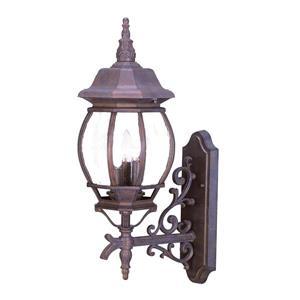 """Acclaim Lighting Chateau 3-Light Wall Mount Lantern - 22.75"""" - Walnut"""