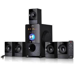 Beefree Sound Bluetooth Speaker System Set - 22-in x 19-in - Black