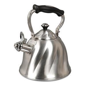Mr. Coffee Alberton Tea Kettle - 2.3 L - Stainless Steel - Silver