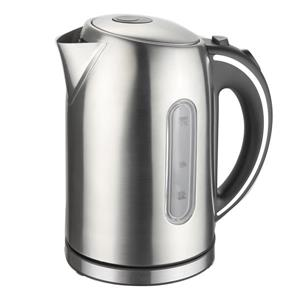 MegaChef Electric Tea Kettle - 1.7 L - Stainless Steel