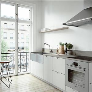 VIGO Kitchen Sink with Avondale Faucet - 36-in