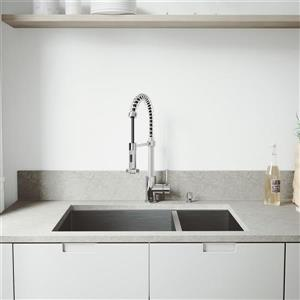 VIGO Kitchen Sink, Grids and Strainers  - 29-in - Chrome