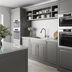 VIGO Kitchen Sink, with Colander, Grid & Strainer - 32-in