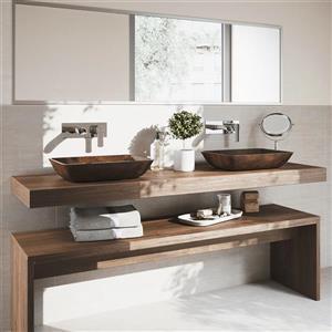 Vigo Cornelius Wall Mount Bathroom Faucet - 1 Handle