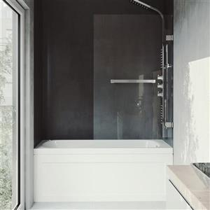 VIGO Orion Glass Bathtub Door - Clear