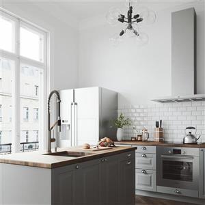 VIGO Livingston Magnetic Kitchen Faucet - Stainless Steel