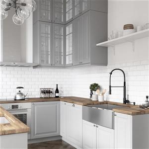 VIGO Laurelton Pull-Down Spray Kitchen Faucet - Matte Black