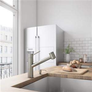 VIGO Branson Pull-Out Spray Kitchen Faucet - Stainless