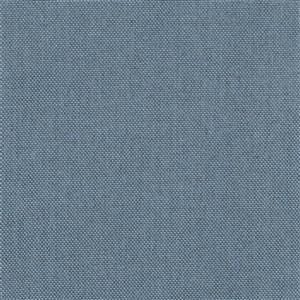 "CorLiving Resin Wicker Patio Ottoman - Grey / Light Blue - 32"" x 32"""