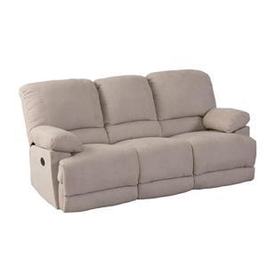 CorLiving Chenille Fabric Power Recliner Sofa Set 3pc - Beige