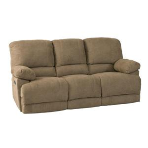 CorLiving Brown Chenille Fabric Power Reclining Sofa