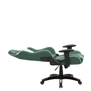 CorLiving High Back Ergonomic Gaming Chair - Green and White