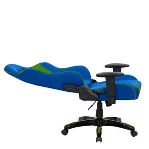 CorLiving High Back Ergonomic Gaming Chair - Blue and Green