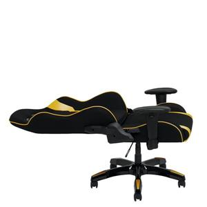 CorLiving High Back Ergonomic Gaming Chair - Black and Gold