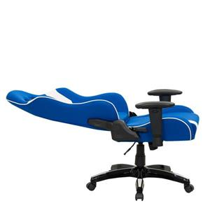 CorLiving High Back Ergonomic Gaming Chair - Blue and White