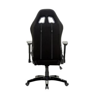 CorLiving High Back Ergonomic Gaming Chair - Black & Silver