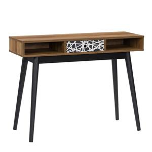 CorLiving Entryway Table or Desk with Drawer and Cubbies
