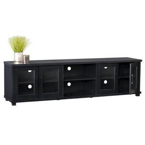 "CorLiving TV Stand - Ravenwood Black - TVs up to 90"""