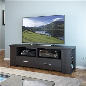 "CorLiving TV Stand - Ravenwood Black -TVs up to 70"""