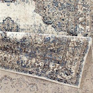 La Dole Rugs®  Anatolia European Rectangular Area Rug - 5' x 7' - Ivory
