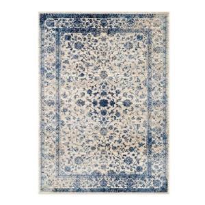 La Dole Rugs®  Anatolia Traditional Area Rug - 5' x 7' - Ivory/Blue