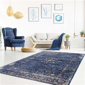 La Dole Rugs®  Anatolia Traditional Area Rug - 2' x 3' - Blue/Beige