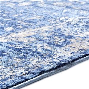 La Dole Rugs®  Anatolia Traditional Area Rug - 5' x 7' - Blue/Beige