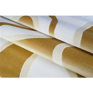 La Dole Rugs® Abstract Area Rug - 8' x 11' - Peach/Yellow