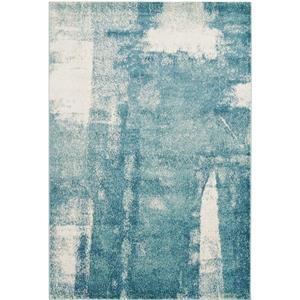La Dole Rugs® Abstract Area Rug - 4' x 6' - Blue/Grey