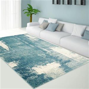 La Dole Rugs® Abstract Area Rug  - 5' x 8' - Blue/Grey