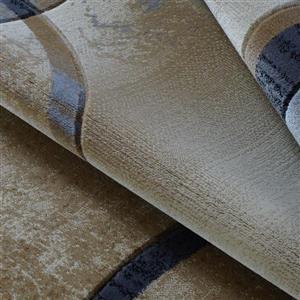 La Dole Rugs®  Adonis Geometric European Area Rug - 3' x 5' - Beige/Grey