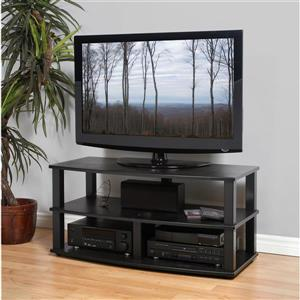 Plateau XT-A4 BB TV Stand - Black Oak Finish - 26.5-in x 31.5-in