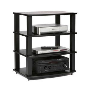 Plateau Audio Shelf Add-On - Black Oak Finish - 26.5-in W