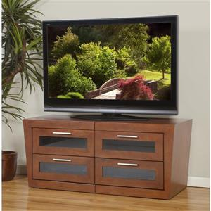 Plateau Valencia TV Stand - Expandable 51-in to 87-in - Black