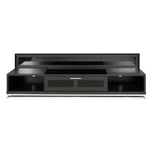 Plateau Valencia Modern TV Stand -  Black Oak Finish - 79-in