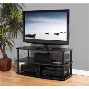 Plateau Audio Shelf Add-On - Black Oak Finish - 23.5-in W