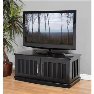 Plateau Craftsman LSXD42B TV Stand - Walnut Finish - 42-in