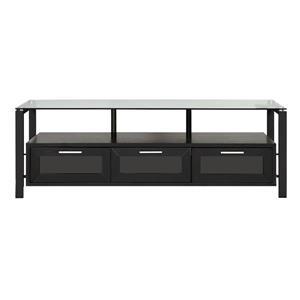 Plateau XL Extension Frames for Decor Cabinets by Plateau - Black