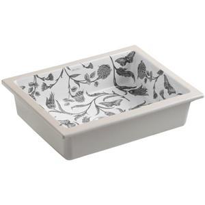 KOHLER Undermount Sink - 15.7-in x 6.25-in - Porcelain - White