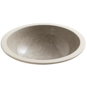 KOHLER Camber Undermount Sink - 16.13-in - Porcelain - Brown