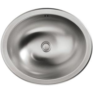 KOHLER Bachata Drop-in Sink - 16.69-in x 7.38-in - Stainless Steel