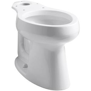 KOHLER Highline Elongated Toilet Bowl - 16.5-in - White