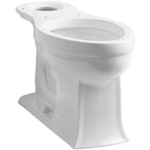 KOHLER Archer Elongated Bowl - 14.44-in x 29.12-in - White