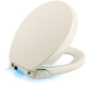 KOHLER Purefresh Toilet Seat - 17.4-in - Plastic - Biscuit