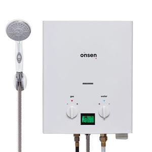 Onsen 6 L 38000 BTU Portable Propane Tankless Water Heater