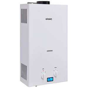 Onsen 10 L 75000 BTU Portable Propane Tankless Water Heater