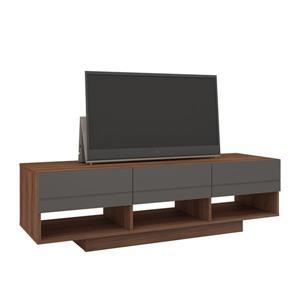 Nexera Radar Entertainment Set - Walnut & Charcoal - 2-piece
