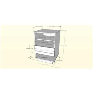Nexera Radar Entertainment Set - Walnut & Charcoal - 3-Piece