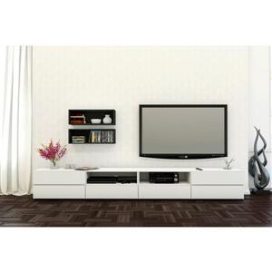 Nexera Traffic Entertainment Set - Black and White - 3 Piece