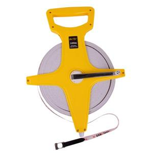 Fat-Pat Open Reel Surveyors Tape - Fibreglass - 100m (328 ft.)